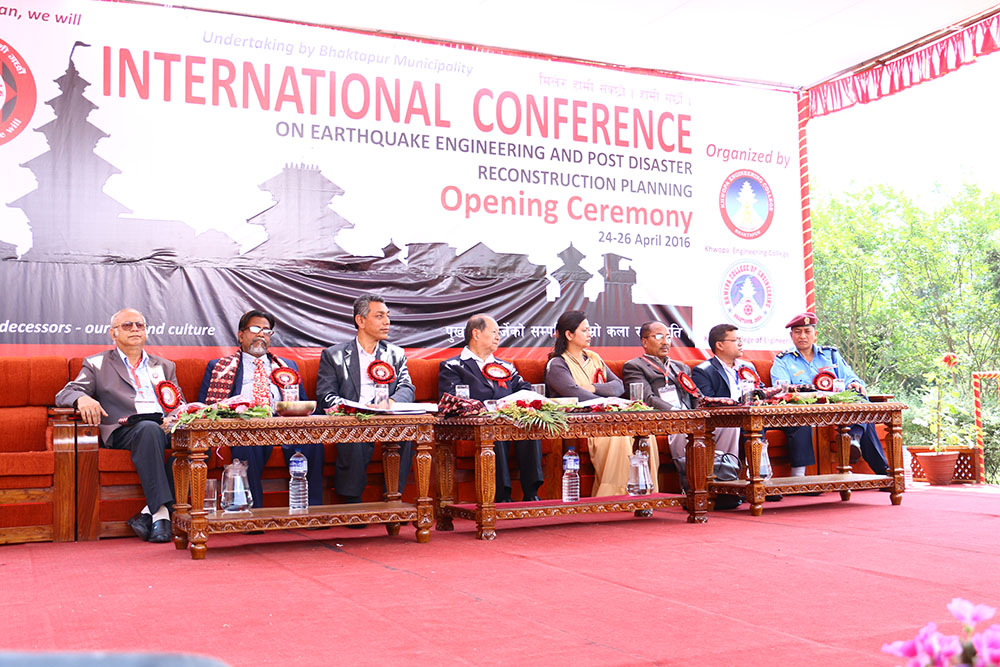 ICEE-PDRP 2016 - Opening Ceremony