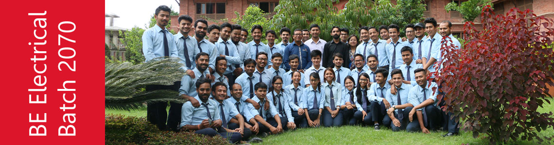 BE Electrical 2070 Batch
